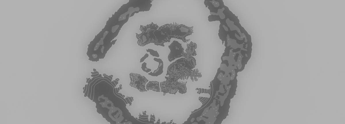 Grayscale map of Rilao.